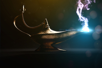 Image of genie's lamp