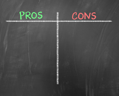 Image of Pros and Cons lists