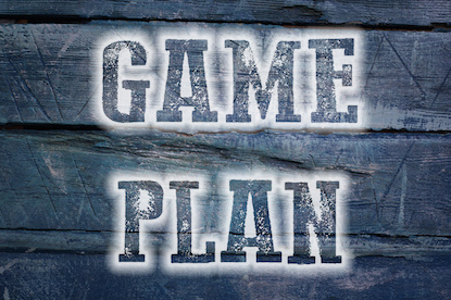 Image of the words Game Plan