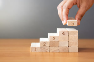 Image of wooden blocks representing phases