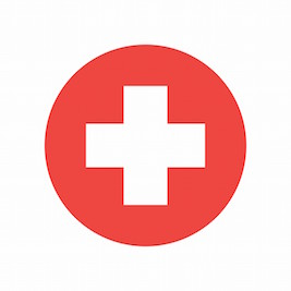 Image of first aid red cross