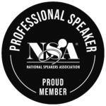 NSA Professional Speaker badge